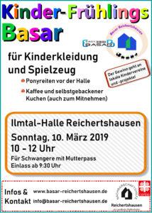 Einladung Kinder-Fruehlingsbasar 2019
